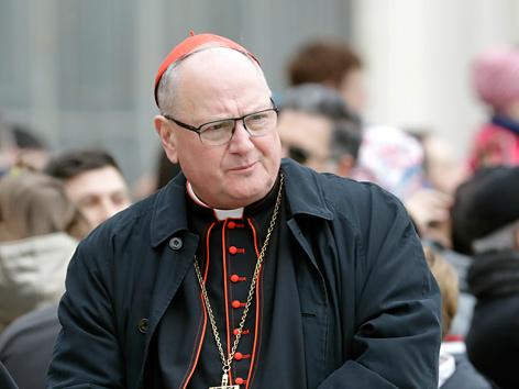 Der Erzbischof von New York, Kardinal Timothy Dolan