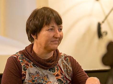 Die evangelische Pfarrerin Barbara Heyse Schäfer