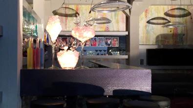 Ansicht der Bar