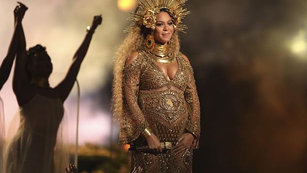 Beyonce mit Babybauch