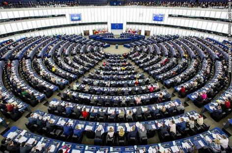 Plenarsaal EU-Parlament