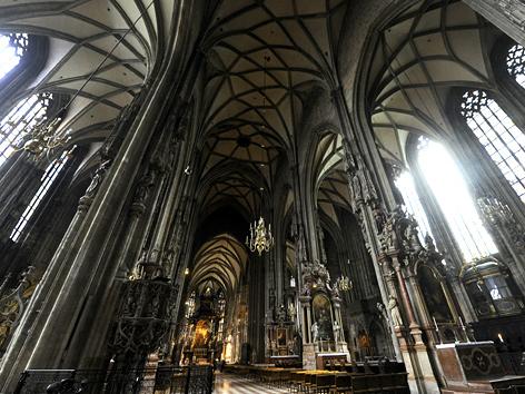 Das Innere des Wiener Stephansdoms