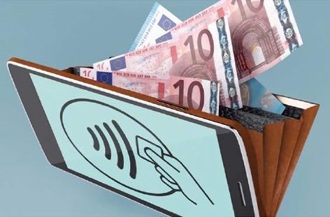 Hybrid: Handy-Geldbörse
