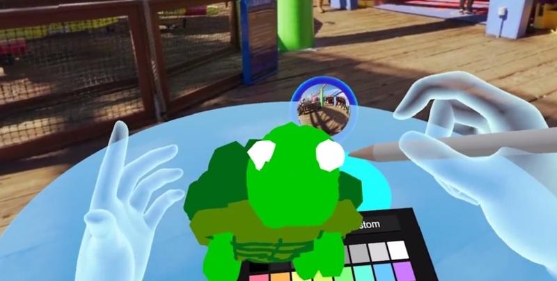 Malen in VR