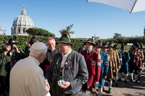 Geburtstagsgäste Papst Benedikt