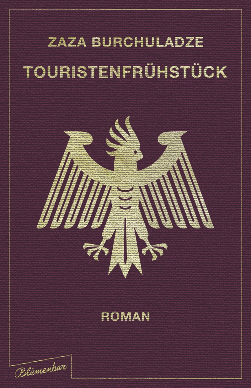"Buchcover ""Touristenfrühstück"""