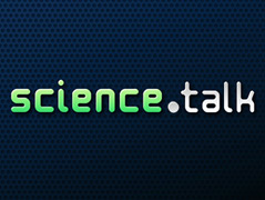 Logo von science.talk