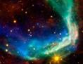 Der Emissionsnebel von SN 185