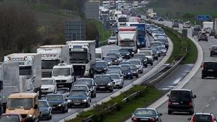 Verkehrs - Stau