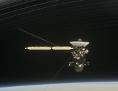 Cassini zwischen den Saturnringen