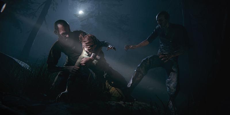 "Szenenbilder aus dem Game ""Outlast 2"""