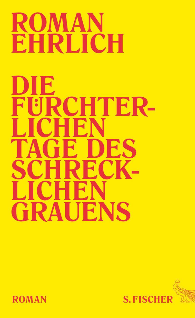 Buchcover: Titel auf gelbem Grund