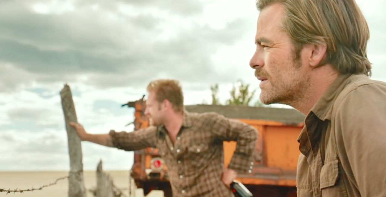 "Ben Foster und Chris Pine in ""Hell oe High Water"""