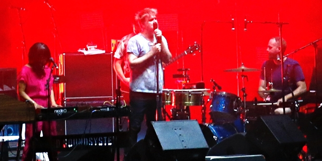 LCD Soundsystem performs at the Panorama Music Festival in New York. July 2016