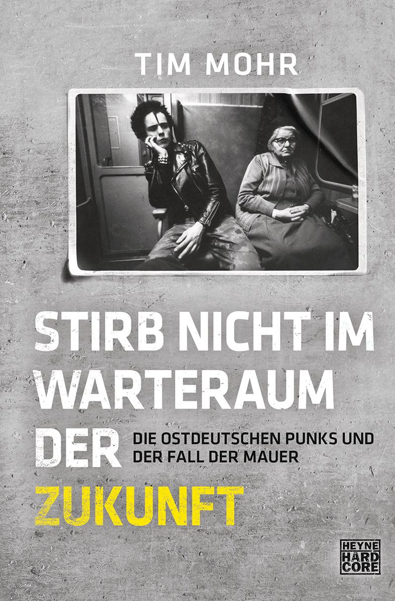 """Buchcover """"Stirb nicht im Warteraum der Zukunft"""""""