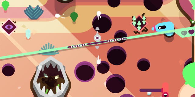 "Screenshot aus ""TumbleSeed"""