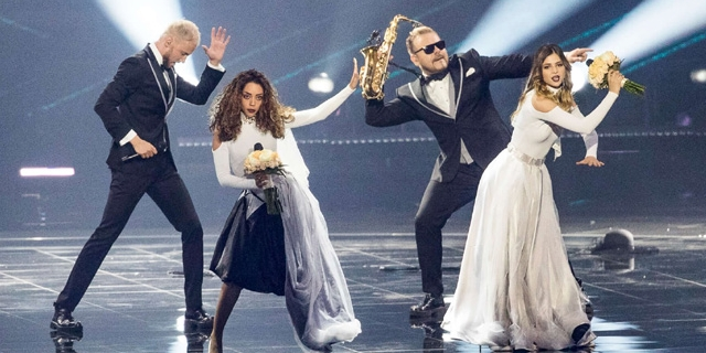 Sunstroke Projekt beim Eurovision Song Contest 2017