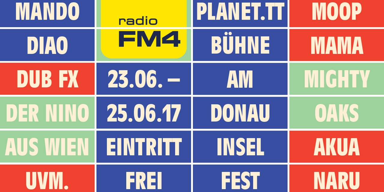 FM4 am Donauinselfest