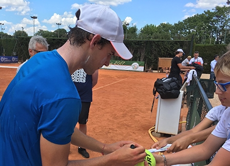 Tennisstar Dominic Thiem