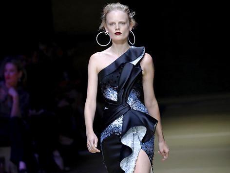 Der belgische Model Hanne Gaby Odiele
