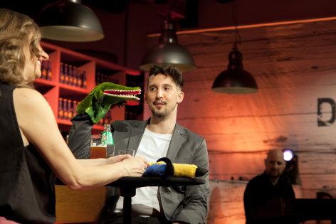 DENK mit KULTUR  Nikolaus Habjan und Dagmar Koller