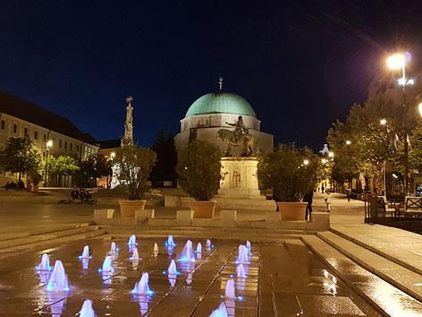 Die Moschee in Pecs