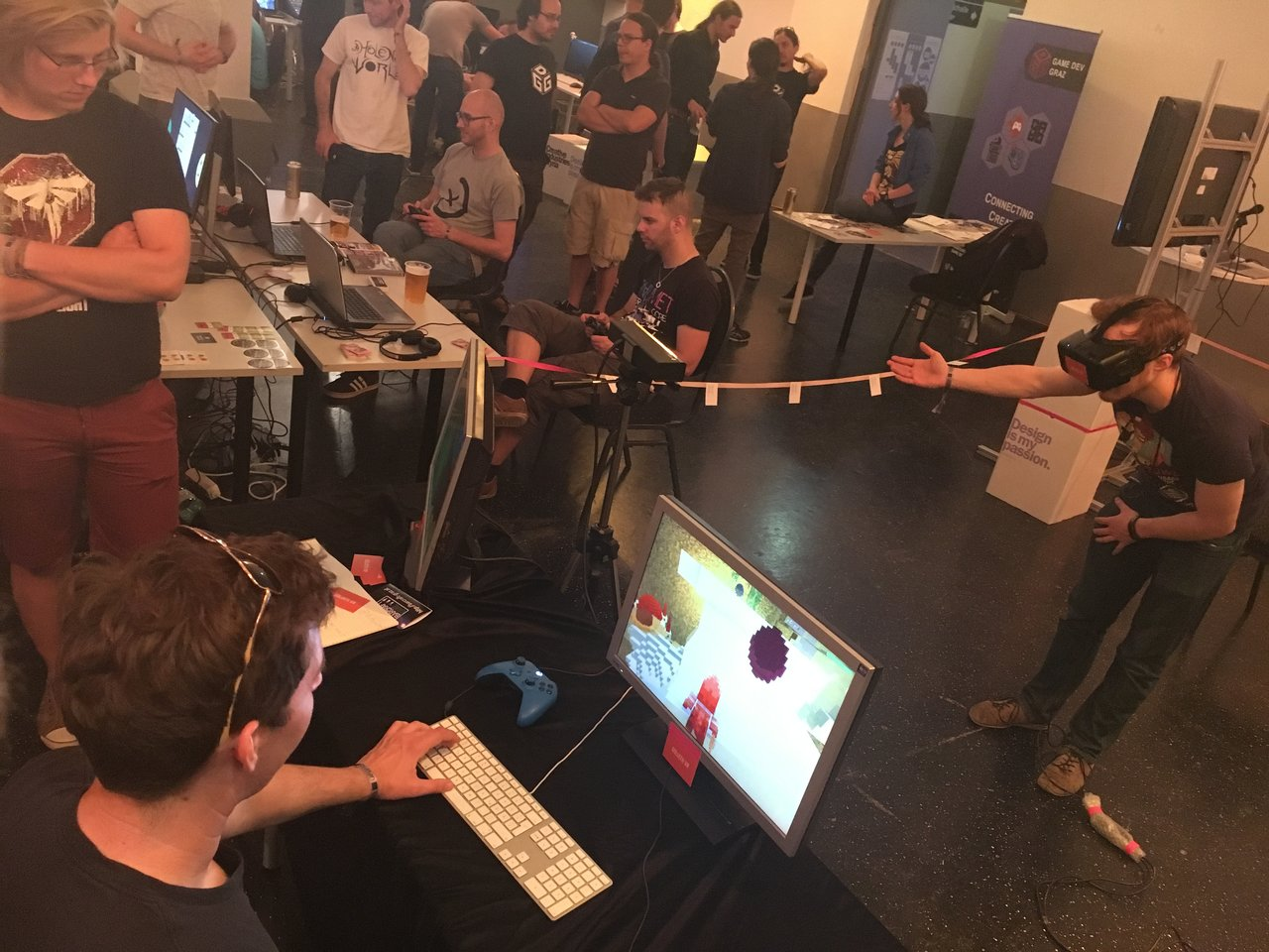 """""""Goliath VR"""" bei der Button Graz"""
