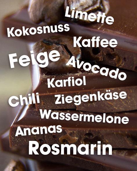 Food Pariring Schokolade