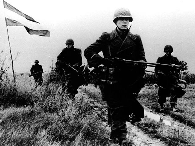 Das Bundesheer an der Grenze zu Ungarn, Ende Oktober 1956