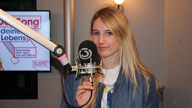 Anna Gasser im Ö3 Studio