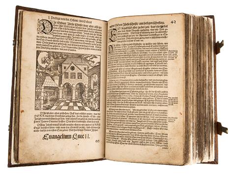 Hauspostille von Martin Luther
