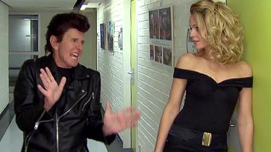 Klaus und Mirjam als John Travolta und Olivia Newton John