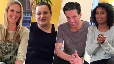 Niki, Riem, Martin und Ana Milva