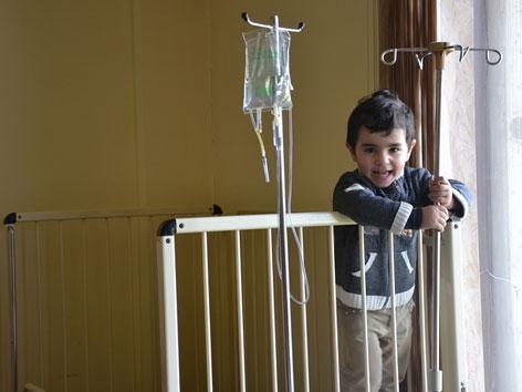 Armenien Österreichisches Kinderspital Gyumri