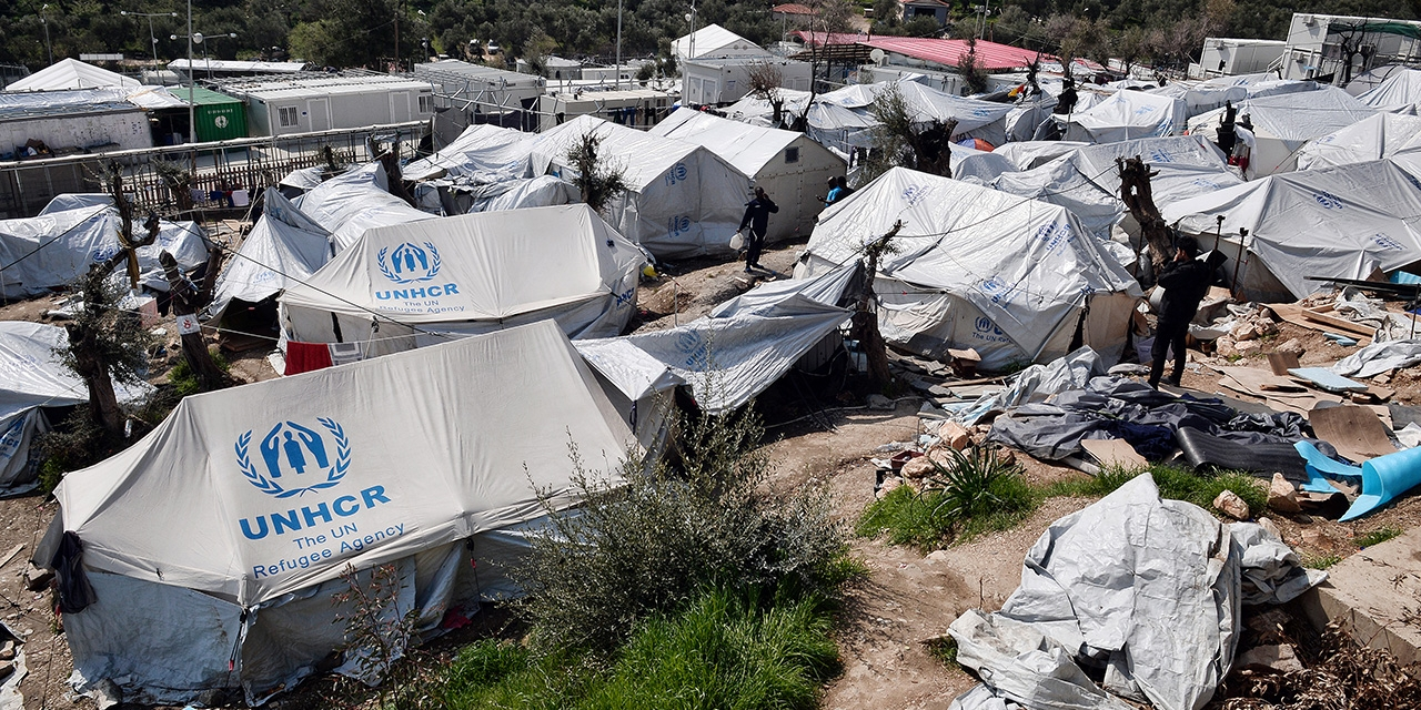 Refugee Camp in Greece