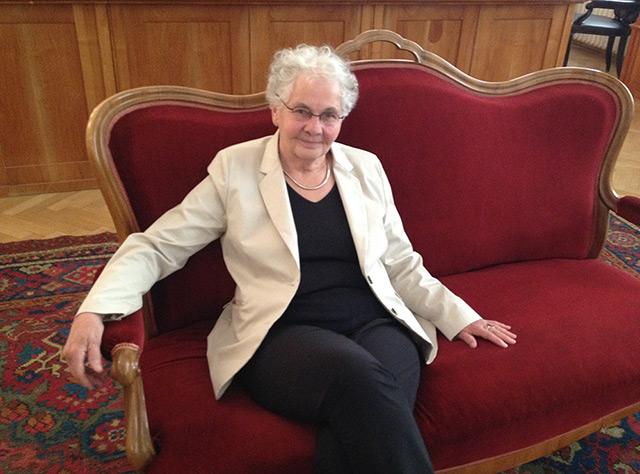 Medizin-Nobelpreisträgerin Christiane Nüsslein-Volhard an der Österreichischen Akademie der Wissenschaften