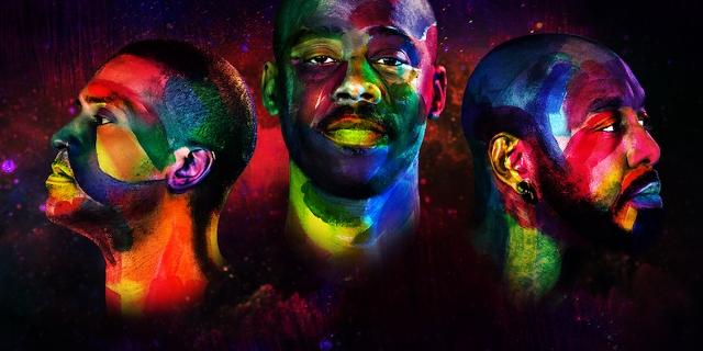 Die drei Produzenten, gemalt