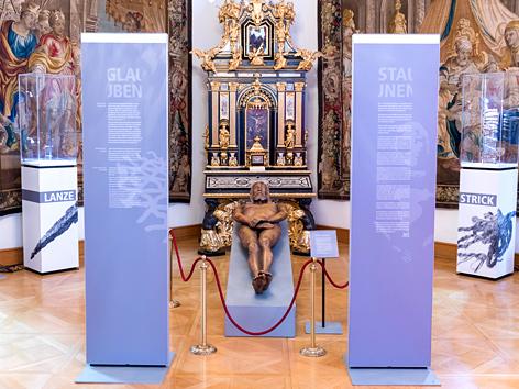 Ausstellung der Malteser über das Turiner Grabtuch im Wiener Erzbischöflichen Palais