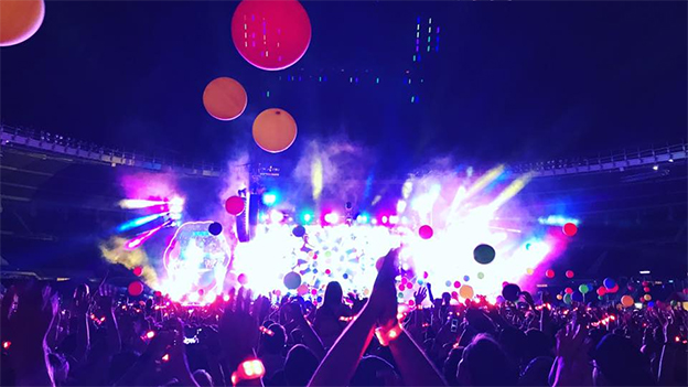 Coldplay in Wien