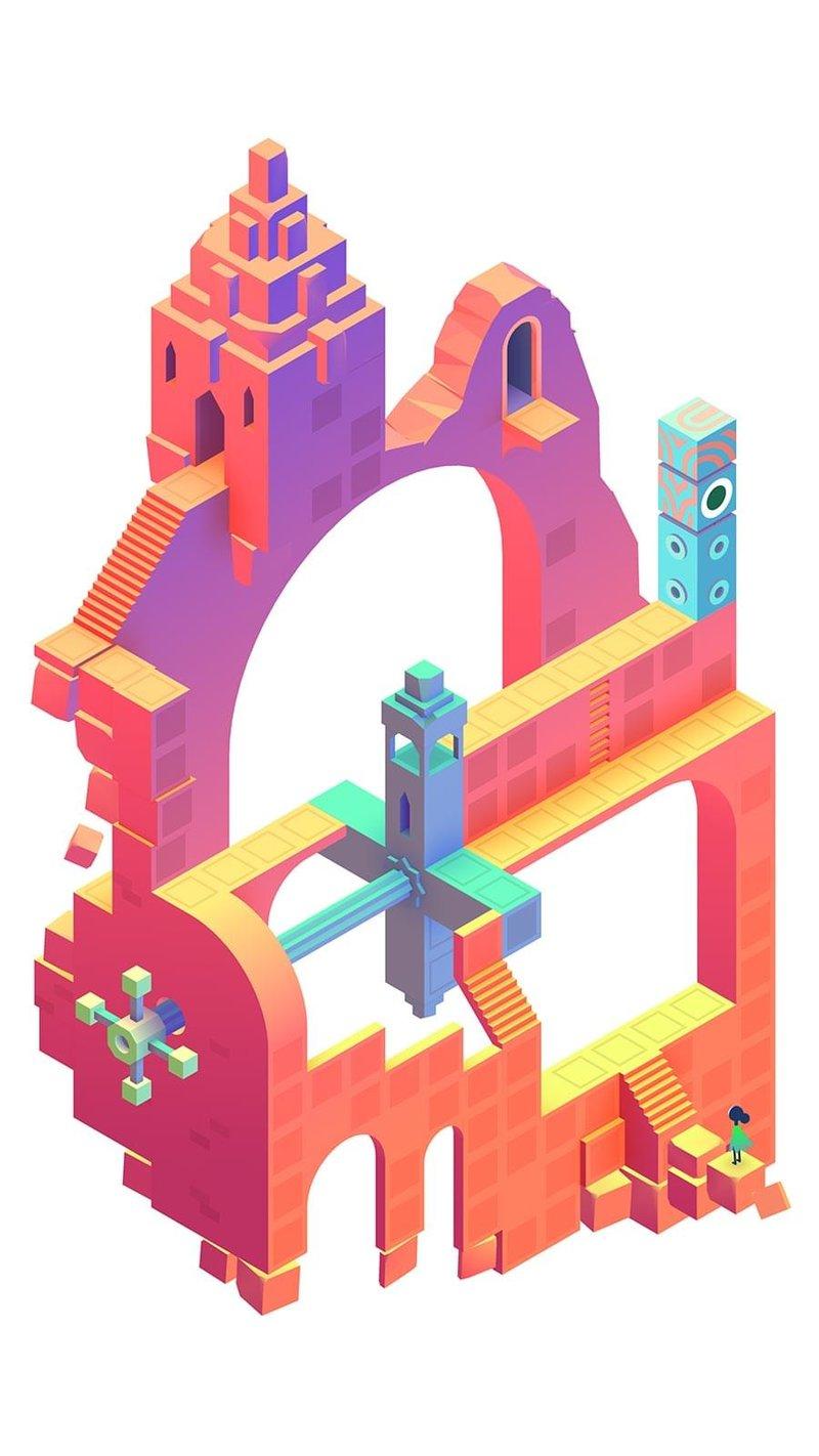 "Puzzle aus ""Monument Valley 2"""