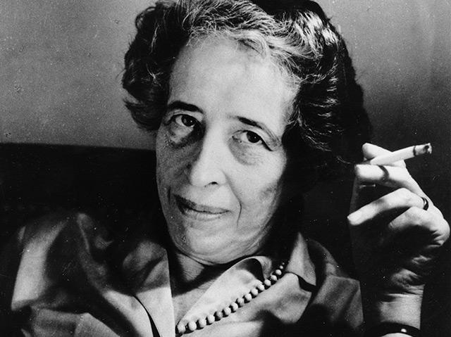 Porträtfoto von Hanna Arendt