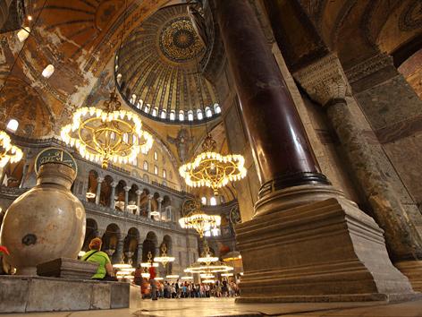 TV-Sendung mit Diyanet-Chef in der Hagia Sophia