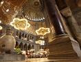 Innenraum der Hagia Sophia in Istanbul