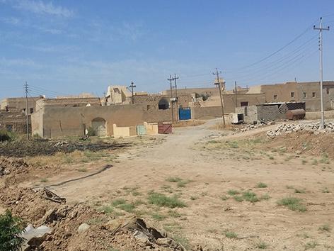 Das irakische Dorf Baqofa, das mit österreichischer Hilfe wieder aufgebaut werden soll