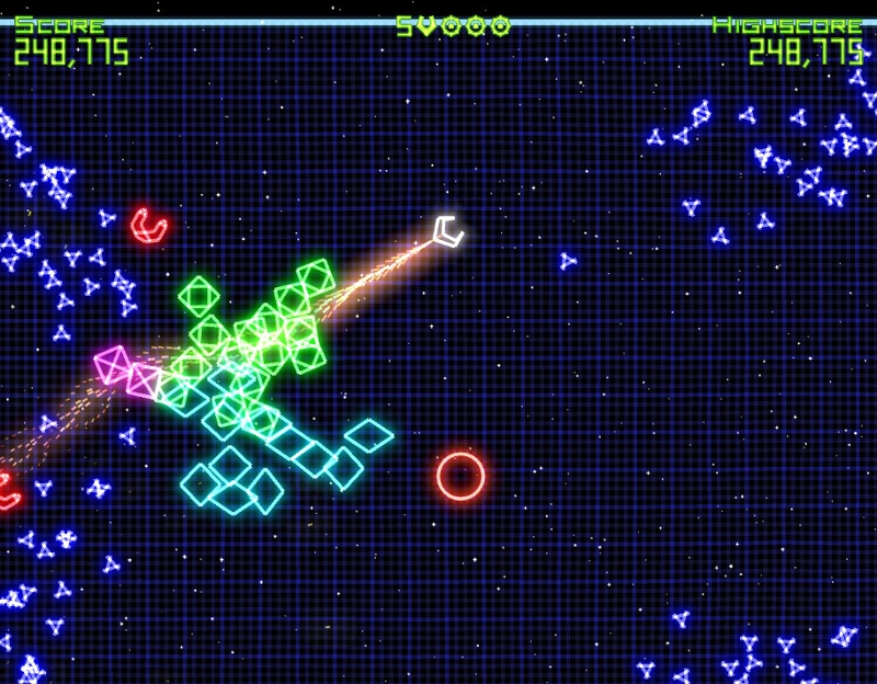 """Geometry Wars: Retro Evolved"""