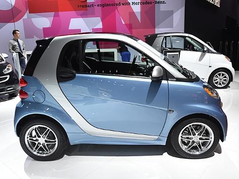 Der smart for two bei der Los Angeles Autoshow im November 2014