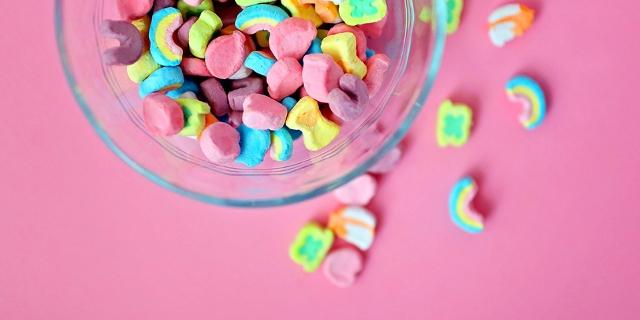 Süßigkeiten in einer Schüssel