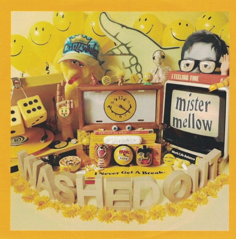 """Mister Mellow"" Washed out Albumcover"