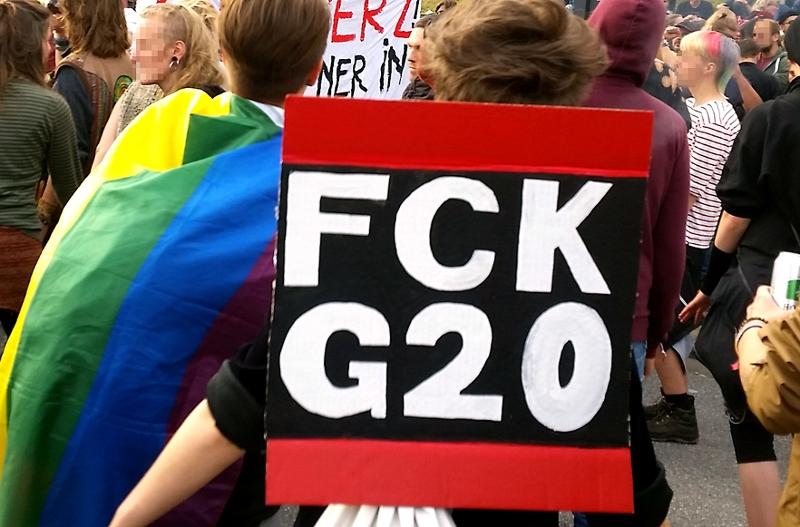 Demo gegen den G20-Gipfel
