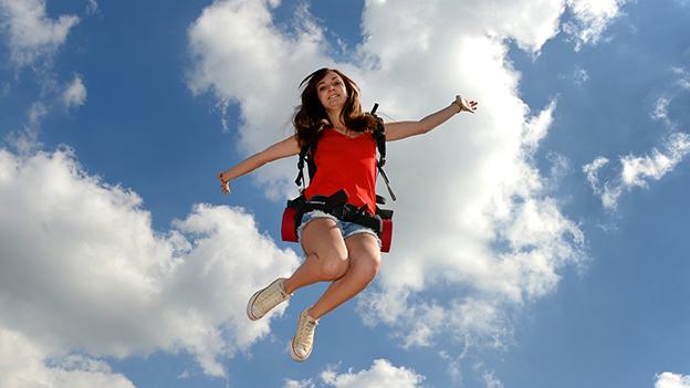 Wanderin springt